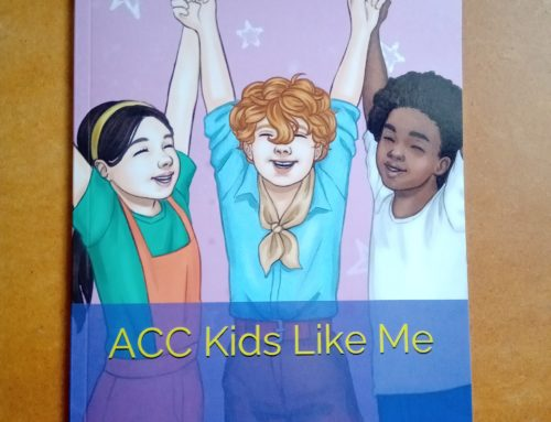 'ACC and Kids Like Me'  By Annette Fournier  Now available to purchase