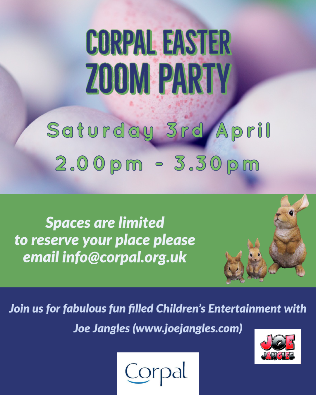 VIRTUAL EASTER FAMILY PARTY